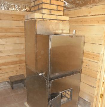 Как сделать печи для банные 496
