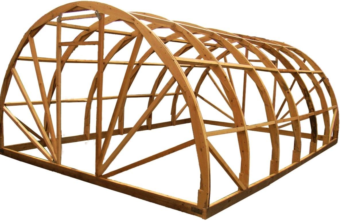 Гнутые конструкции из дерева своими руками 5