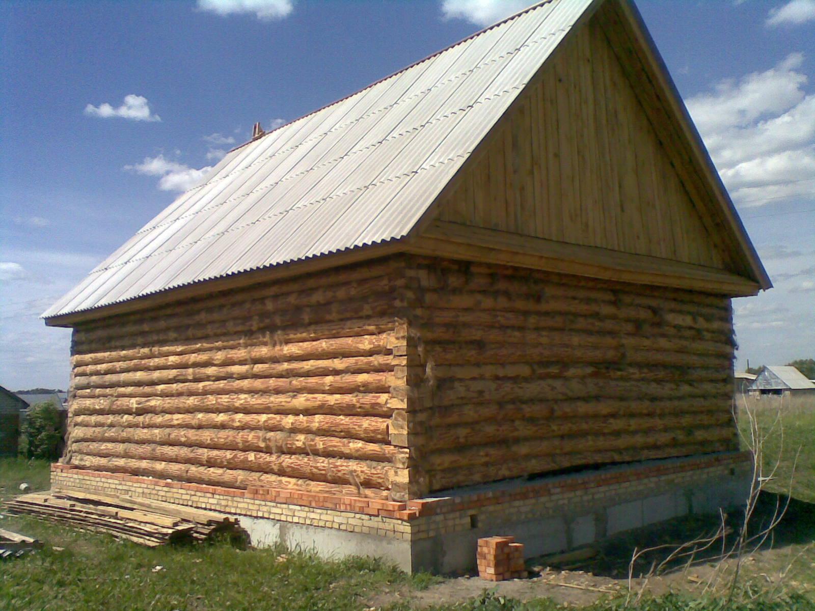 Крыша на сарай из шифера своими руками