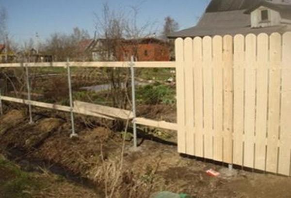 Как своими руками сделать забор на даче 24