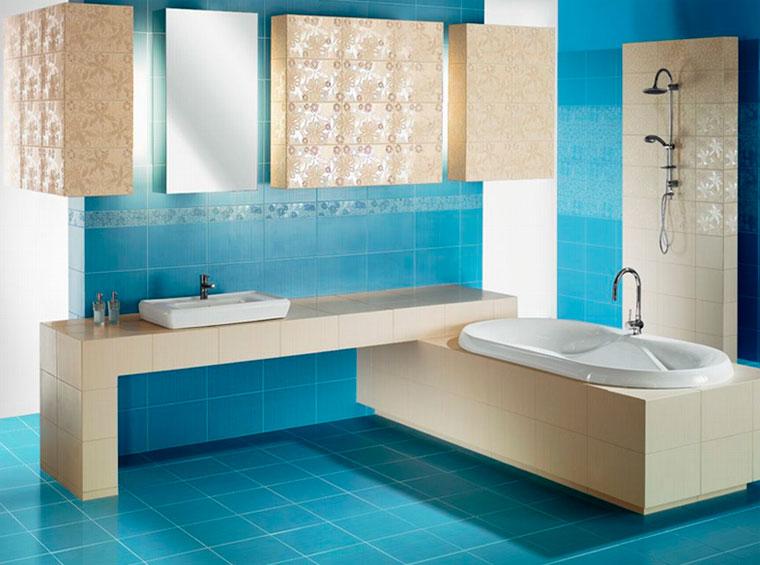 Natuurlijke Trek Badkamer : Wat voor soort tegels is het beter om in de badkamer te plaatsen
