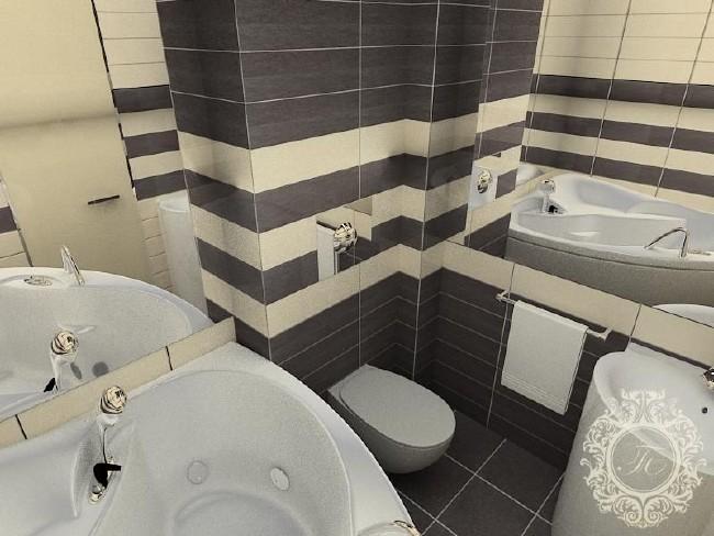 Keramiek voor de badkamer. Keramische tegels voor badkamers